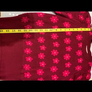 kate spade Sweaters - Kate Spade marker floral sweater